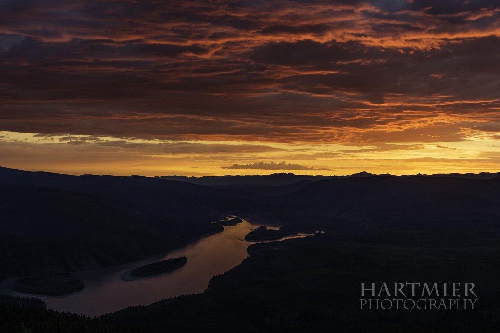 Sunset Dawson City
