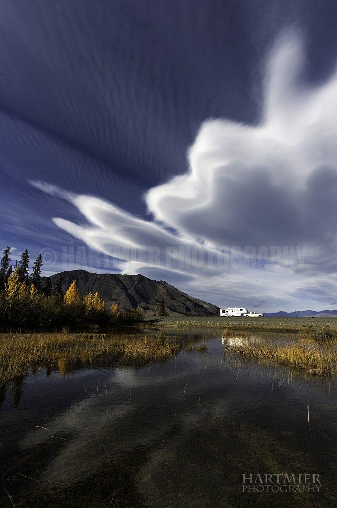 Kluane, Sheep Mtn. Clouds