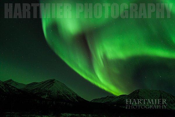 Aurora ,Annie Lk. Yukon