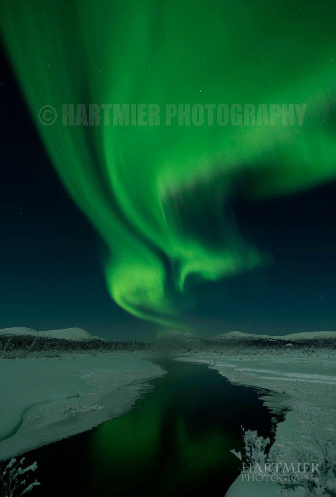Aurora , Fish Lake Yukon